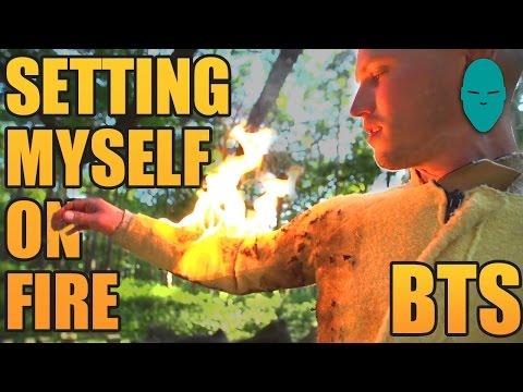 Setting Myself on Fire Behind the Scenes | Damien Walters