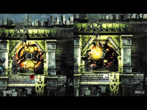 Darksiders 2: Xbox 360 vs. Wii U Comparison Video