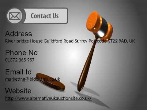 Best Cheap Online Auctions House in Surrey - Alternative UK Auction Site, UK