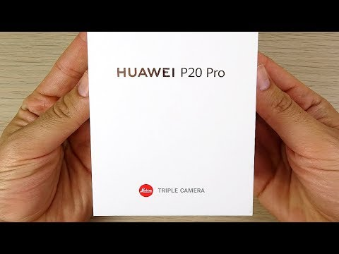 Huawei P20 Pro Unboxing & First Impressions!