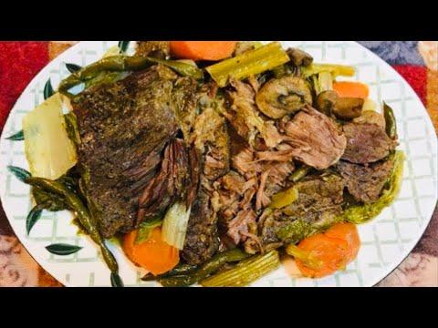 Low Carb: CROCK-POT BEEF ROAST recipe