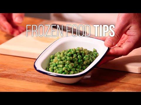 Frozen Food Tips: Frozen Peas
