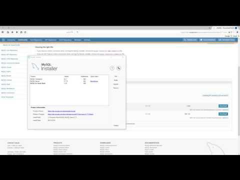 How to create mysql database with mysql workbench