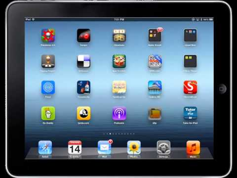 Closing and Deleting Apps on the iPad