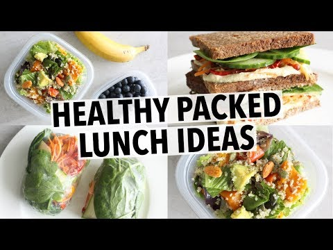 EASY HEALTHY LUNCH IDEAS - FOR SCHOOL OR  WORK!