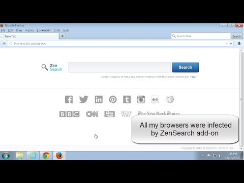 How to remove (uninstall) ZenSearch ads (Mozilla, Chrome, Internet Explorer)