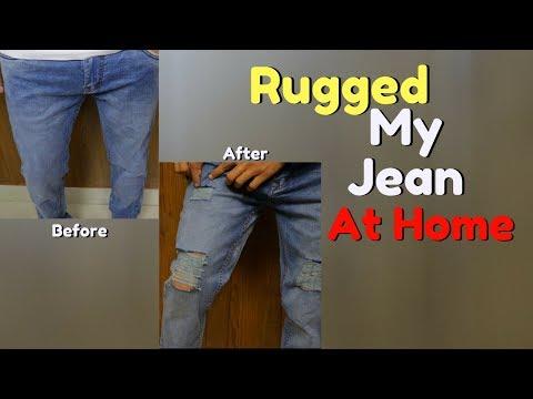 Jeans ka Satyanaas??? I Rugged My Jeans At Home | Be Ghent | Rishi Arora