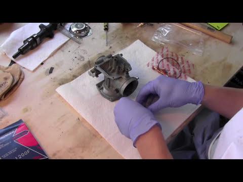 Motorcycle Carburetor Cleaning and Rebuild part 2