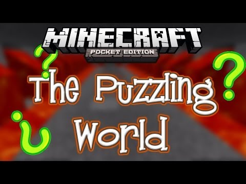The Puzzling World- Minecraft Pocket Edition Adventure Map!
