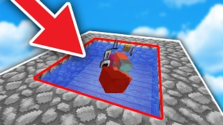 FAKE WATER TRAP! - Minecraft SKYWARS TROLLING