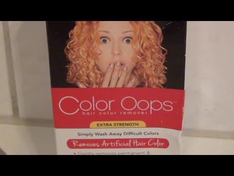 Color Oops vs. Black Hair