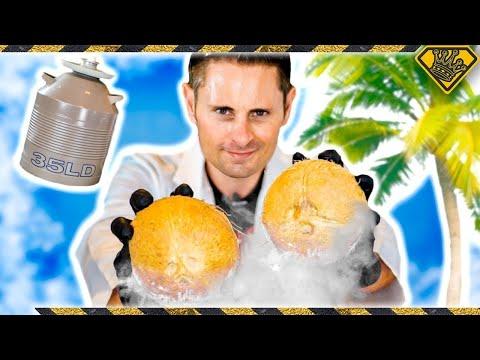Frozen Coconut Mind Blow!