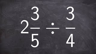 Tutorial How To Divide A Mixed Number By A Fraction Online Math Help