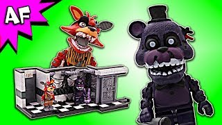 Five Nights at Freddy's PARTS & SERVICE Speed Build - FNAF McFarlane Toys LEGO compatible set