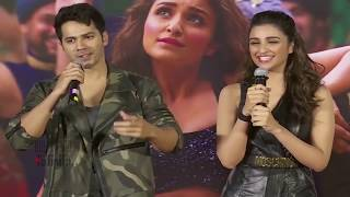 Varun Dhawan KISSING Parineeti Chopra On Stage | Dishoom | Jaaneman Aah Launch