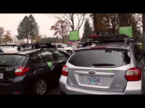 Zipcar 101: How do I use the Yakima Ski and Snowboard Rack? | Zipcar