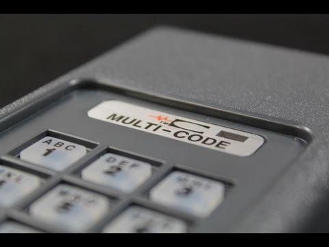 MultiCode Wireless Keypad Programming Tutorial