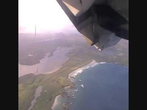 Aer Arran Take Off Donegal Airport ATR 42 HD