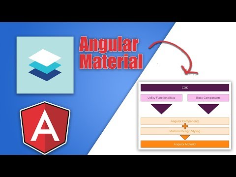 Angular Material Introduction & Setup