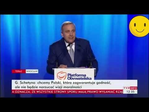 Schetyna mówi o państwie, które nie dbało o godność Polaków. Konwencja PO w 2016 roku
