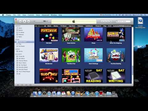 How to put games on the ipod classic