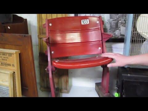 Look What I Found Online Auction Preview-Vintage Cincinnati Reds Riverfront Stadium Seats