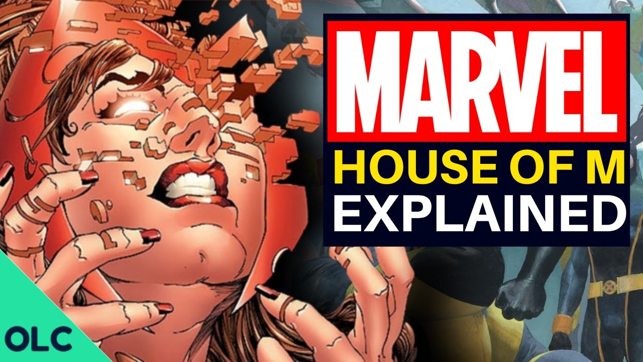 HOUSE OF M - The Comic Book That Inspired Wandavision