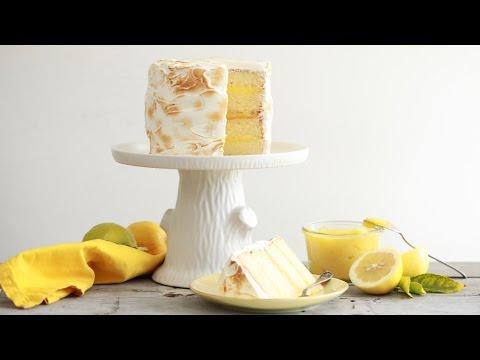Lemon Meringue Cake - Gemma's Bigger Bolder Baking