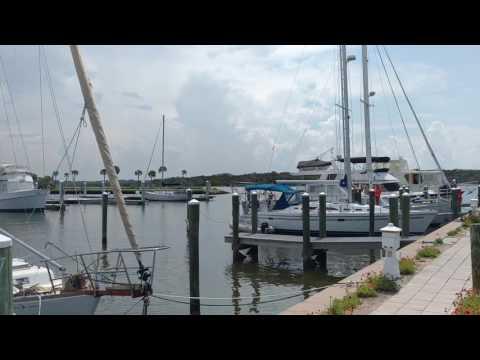 Marina at Marineland Florida, July 2017