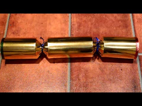 How to Make a Giant Christmas Cracker