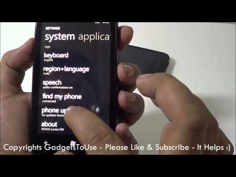Nokia Lumia 510 Tips, Tricks and Less Known Features Explained Part 2