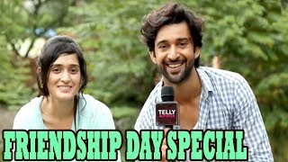 Candid Interview of Pankhuri Awasthy & Rajveer Singh On Friendship Day