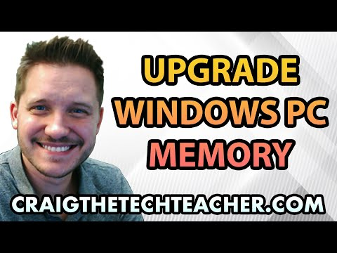 How To Upgrade Windows 8 Computer Memory (RAM) - Ep. 16