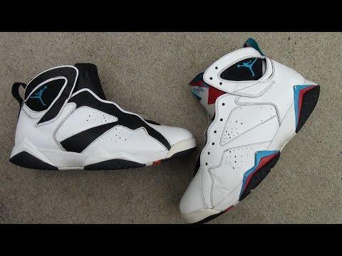 Custom Jordan 7 Retro : Bye Bye Beaters! Sneak Peak  ( Not Complete )