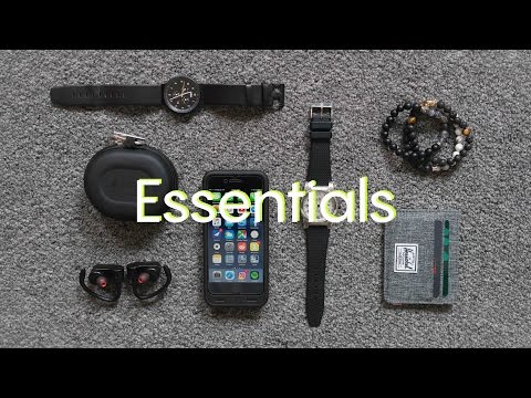 My Daily Essentials // EDC