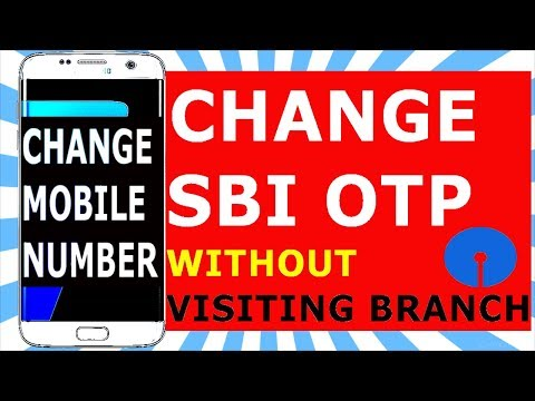 HOW TO CHANGE OTP CELL NUMBER ONILNE !