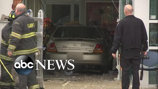 20 people injured after car crashes into Social Security office