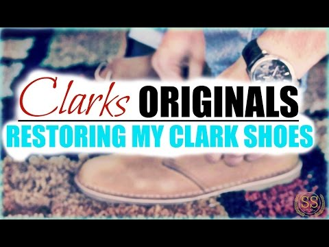 ***Restoring My Clark Shoes***: How to clean suede shoes