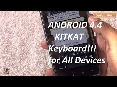 Android (4.4) Kitkat Keyboard for Every Phone by .:Hrishi21007™:.