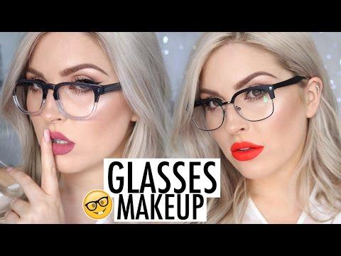 Makeup Tutorial for Glasses! 💕 LOOKBOOK Frames & Lipstick Pairings 💯