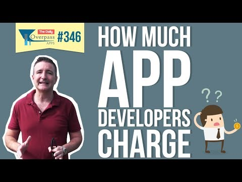 How Much App Developers Charge?