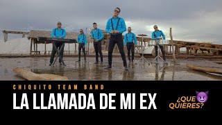 Chiquito Team Band - La Llamada De Mi Ex (VIDEO OFICIAL UHD 4K) By Freddy Graph