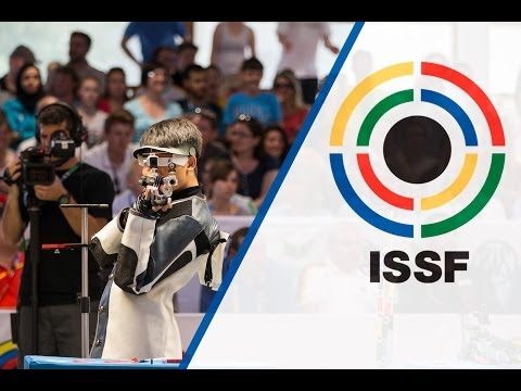 10m Air Rifle Men Final - ISSF World Cup in all events 2014, Munich (GER)