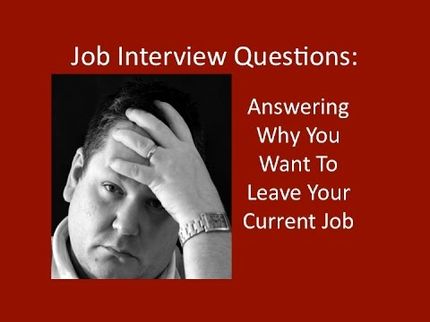 Job Interview Questions: Answering