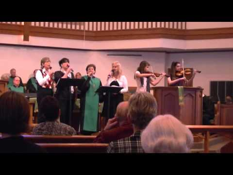 Ancient Words with Hermitage UMC Grace Notes, Madeline & Brenna on violin