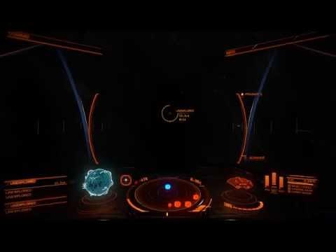 Elite: Dangerous - Getting close to a Neutron Star