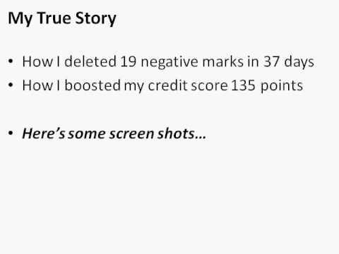 Can I Repair My Own Credit Score?
