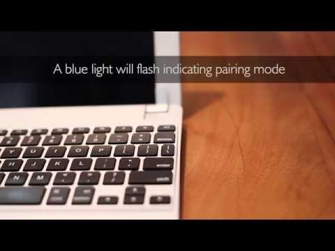 Pairing your BrydgeAir Keyboard - The Aluminium iPad keyboard for iPad Air and iPad Air 2