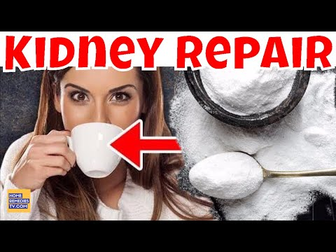 Cure KIDNEY DISEASE - FULLY Repair Your Kidney NATURALLY & PREVENT KIDNEY FAILURE with BAKING SODA