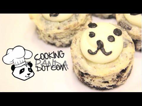 How to Make Mini Oreo Cheesecake Pandas
